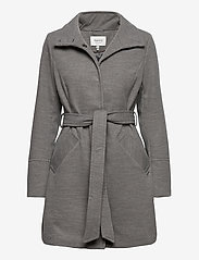 b.young - BYCIRLA COAT - OUTERWEAR - wool coats - med. grey mel. - 0
