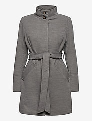 b.young - BYCIRLA COAT - OUTERWEAR - wool coats - med. grey mel. - 1