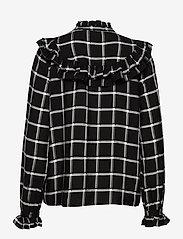 b.young - BYFLORI SHIRT - - chemises à manches longues - black combi 1 - 1