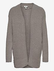 b.young - BYMIRELLE SHORT CARDIGAN 2 - - cardigans - med. grey mel. - 0