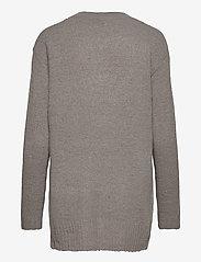 b.young - BYMIRELLE SHORT CARDIGAN 2 - - cardigans - med. grey mel. - 1