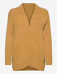 b.young - BYMIRELLE SHORT CARDIGAN 2 - - cardigans - mel. honey mustard - 0