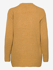 b.young - BYMIRELLE SHORT CARDIGAN 2 - - cardigans - mel. honey mustard - 1