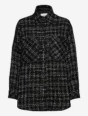 b.young - BYERICA SHIRT - - overshirts - black mix - 0