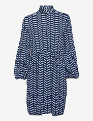 b.young - BYHENNA DRESS - - short dresses - country blue mix - 0