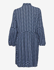 b.young - BYHENNA DRESS - - short dresses - country blue mix - 1