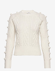 b.young - BYMELISSA CABEL - - jumpers - off white - 0