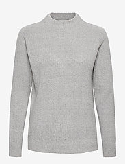 b.young - BYNORA JUMPER 2 - - jumpers - mid grey melange - 0