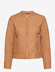 b.young - BYACOM JACKET - - leather jackets - thrush - 0