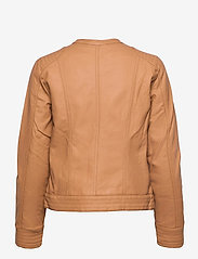 b.young - BYACOM JACKET - - leather jackets - thrush - 1