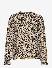 b.young - BYIDRA BLOUSE - - long sleeved blouses - cement mix - 0