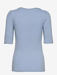 b.young - BYTOELLA PUFF - - t-shirts - brunnera blue - 1