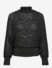 b.young - BXPHILOU BLOUSE - long sleeved blouses - black - 0