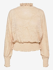 b.young - BXPHILOU BLOUSE - long sleeved blouses - brazilian sand - 0