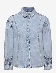 b.young - BYLYRA SHIRT - - kläder - ligth blue denim - 0