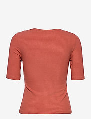 b.young - BYTOELLA SS TSHIRT 2 - - t-shirts - etruscan red - 1