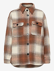 b.young - BXDORTHEA JACKET - overshirts - tortoise shell check - 1