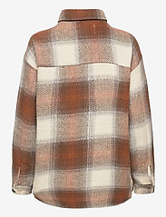 b.young - BXDORTHEA JACKET - overshirts - tortoise shell check - 2