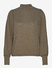 b.young - BXSELMA PULLOVER - - jumpers - olive night melange - 0