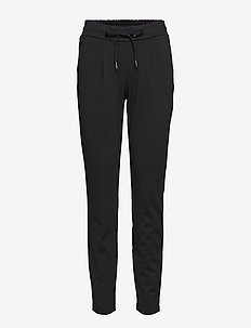 Rizetta pants 2 - Jersey - slim fit housut - black