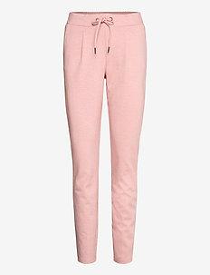 Rizetta pants 2 - Jersey - slim fit bukser - rose tan melange