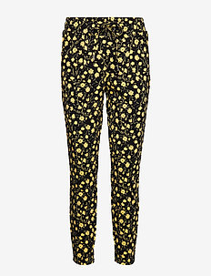 Rizetta crop pants - - CORNSILK FLOWER COMBI
