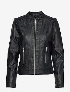 Acom jacket - - leather jackets - black