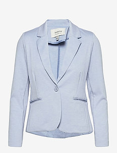 Rizetta blazer - - casual blazers - brunnera blue melange