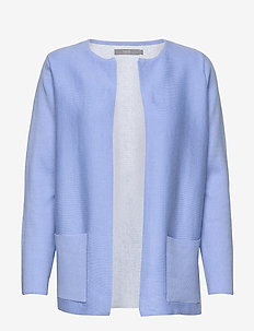 Noramai cardigan - koftor - cornflower blue