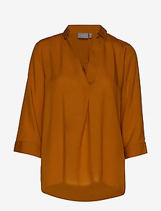 BYJALINO BLOUSE - - long sleeved blouses - golden oak