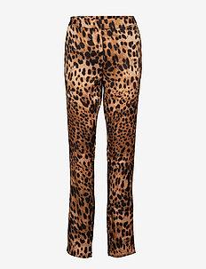 BXGIGI PANTS - - spodnie proste - golden combi 1