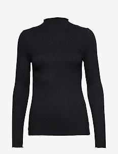 BYSILISE HIGH NECK - - BLACK