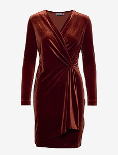 BYPERLINA DRESS 2 - - DARK COPPER