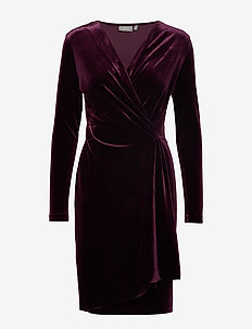 BYPERLINA DRESS 2 - - SHADOW PURPLE