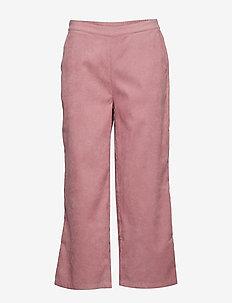BXDINA CROPPED PANTS - - leveälahkeiset housut - woodrose
