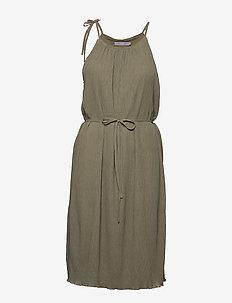 BXIRINE DRESS - - midiklänningar - cedar green