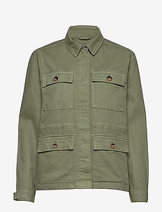 BYBOLCO JACKET - - SEA GREEN