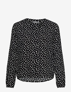 BYILLA BLOUSE - - BLACK COMBI 6