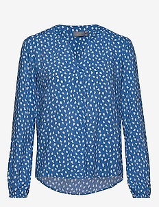 BYILLA BLOUSE - - REGATTA BLUE COMBI 3
