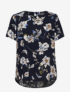 BYILENA BLOUSE 2 - - COPENHAGEN NIGHT COMBI 2