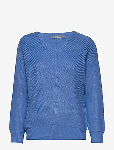 BYMELISSA V-NECK - - REGATTA BLUE