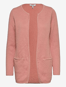 BYMIKALA STRUCTURE CARDIGAN - cardigans - rose tan