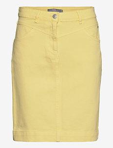 BYKARI SKIRT - - spódnice do kolan i midi - sunlight