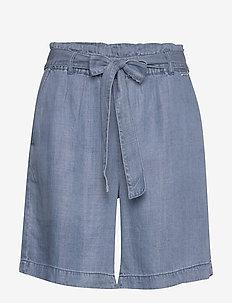BYLANA SHORTS - - casual shorts - med. blue denim