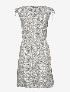 BYISOLE SL DRESS - - short dresses - off white combi 8