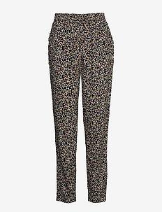 BYISOLE PANTS - - casual broeken - black combi 1