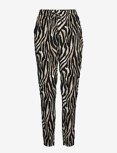 BYISOLE PANTS - - spodnie na co dzień - black combi 7