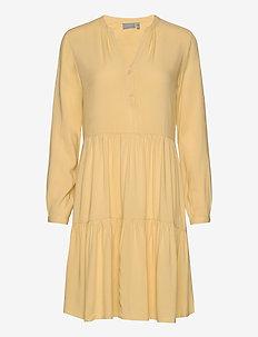 BYISOLE DRESS2 - - krótkie sukienki - cornsilk