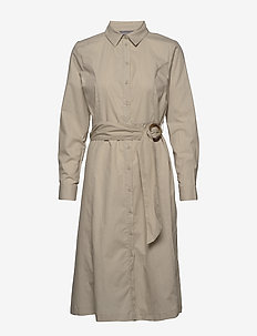 BYFELIXA DRESS - - shirt dresses - cement