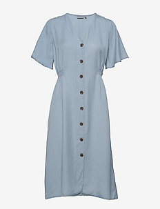 BYHARIMO DRESS - - midi kjoler - chambray blue